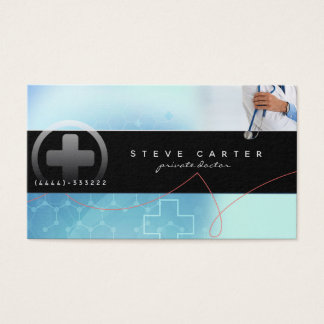 Private Visitenkarte Doktor-Clinic Medical