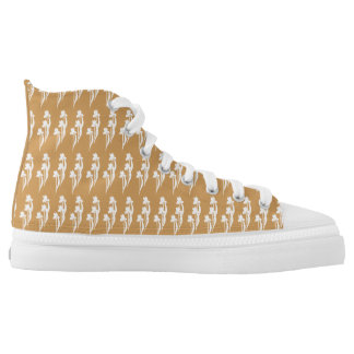 PRLimages Iris-hoher Spitzenturnschuh Hoch-geschnittene Sneaker