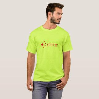 Pro-Austin Emblem-/Flaggen-Version T-Shirt