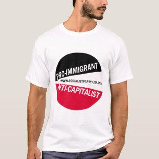 Pro-Immigrant/Anti-Kapitalist T-Shirt