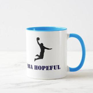 Probasketball-hoffnungsvolle Tasse