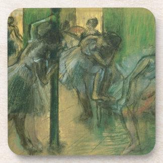 Probende Tänzer Edgar Degass | Getränkeuntersetzer