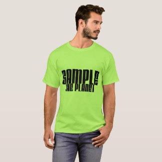 Probieren Sie das Planeten-grundlegende T-Stück T-Shirt