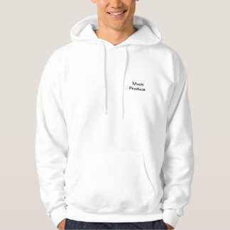 Producteur de musique sweatshirts avec capuche