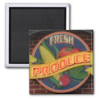 Produit frais magnet carré