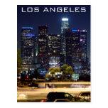 Produits de papier de nuit de Los Angeles Carte Postale