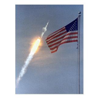 Produkteinführungs-Postkarte Apollo 11 Postkarte