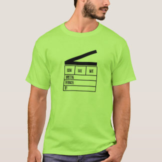 Produzentschindel grundlegendes hellgrünes T.Shirt T-Shirt