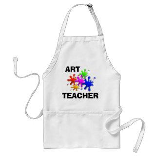 Professeur d art tablier
