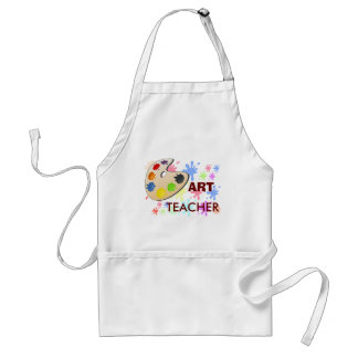 Professeur d'art - tablier
