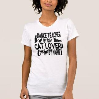 Professeur de danse d'amoureux des chats t-shirt