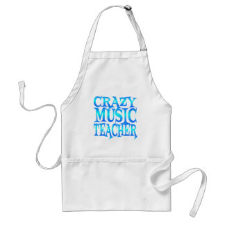 Professeur de musique fou tablier