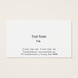 Professioneller klassischer, minimalistischer, visitenkarten