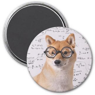 Professor Barkley 2 ¼ Zoll-runder Magnet