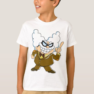 Professor Poopypants Kapitän-Underpants | T-Shirt