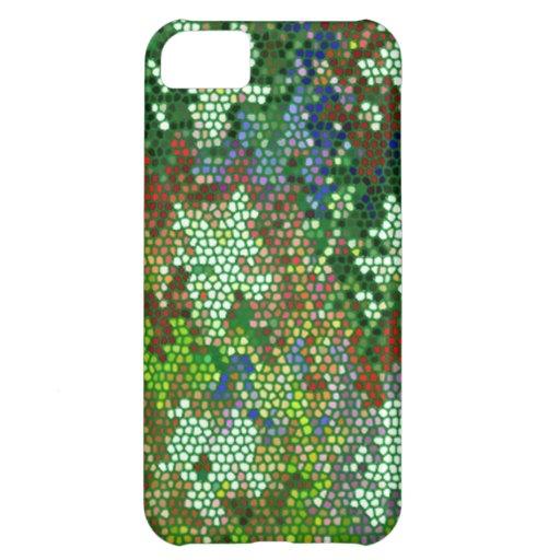 Profil sous convention astérisque en verre souillé coque iPhone 5C