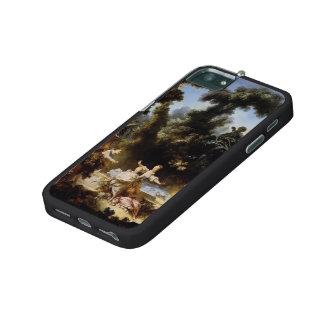 Progrès de Jean-Honore Fragonard- de poursuite d'a Coques Pour iPhone 5