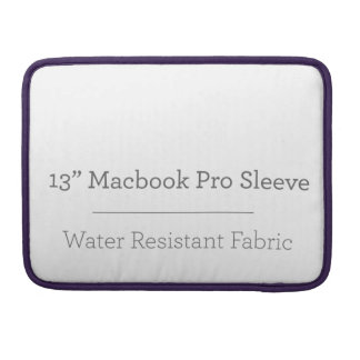 Prohülse der Gewohnheits-13in Macbook Sleeve Für MacBooks