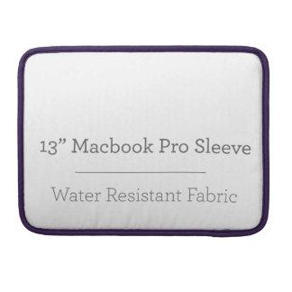 Prohülse der Gewohnheits-13in Macbook Sleeves Für MacBooks