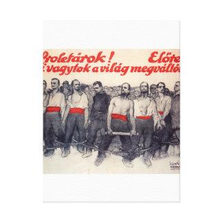 Prolétaires ! En avant ! Affiche de propagande Toiles
