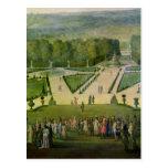 Promenade de Louis XIV par le Parterre du Nord Carte Postale