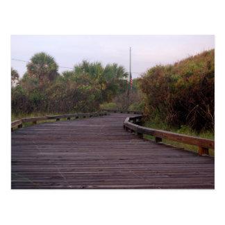 Promenade in Myrtle Beach Postkarte