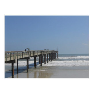 Promenade, St Augustine, Florida Postkarte