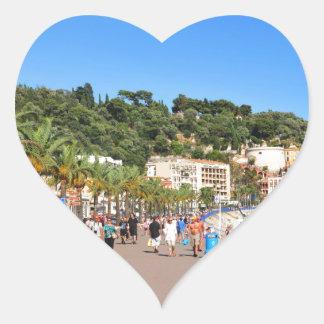 Promenaden-DES Anglais Herz-Aufkleber