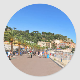 Promenaden-DES Anglais Runder Aufkleber