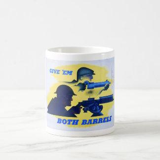 Propaganda-Plakat des Kriegs-WW2 Kaffeetasse