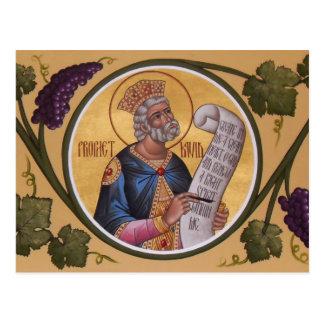 Prophet-David-Gebets-Karte Postkarte