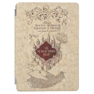 Protection iPad Air La carte du maraudeur du charme | de Harry Potter