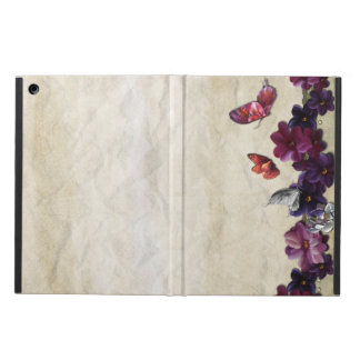 Protection iPad Air Papillons floraux