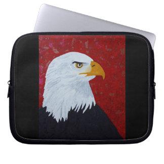 Protection Pour Ordinateur Portable Eagle/feu dans le ciel