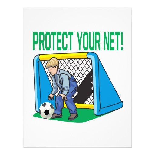 Protégez votre filet prospectus personnalisés