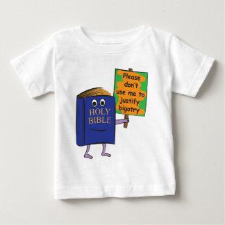 Protest der Bibel Baby T-shirt