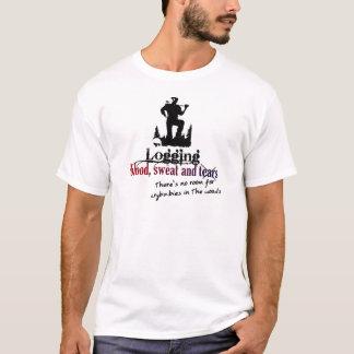 Protokollierung - Blut, Schweiß u. Risse T-Shirt