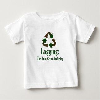 Protokollierung: Grüne Industrie Baby T-shirt