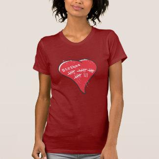 Protokollierungs-Herz T-Shirt