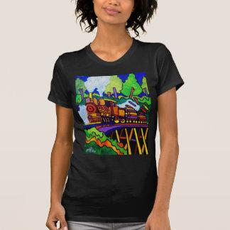 Protokollierungs-Zug T-Shirt