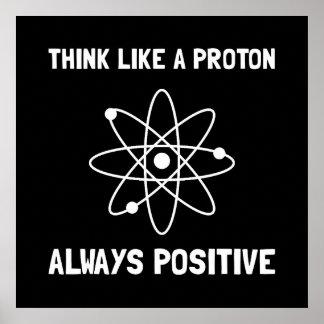 Proton immer positiv poster