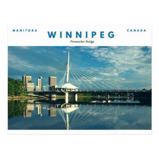 Provencher Brücke Postkarte