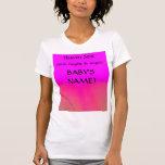 Providentiel - chemise de faire-part de naissance t-shirts