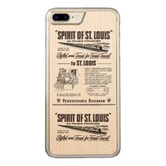 PRR Streamliner Geist von St. Louis Carved iPhone 8 Plus/7 Plus Hülle