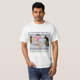 Prüfen Sie Nordrechte Wale atlantiks auf Zika T-Shirt