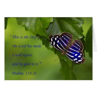 Psalm-118:24 Grußkarte