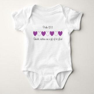 Psalm-127:3 Säuglings-Strampler Baby Strampler