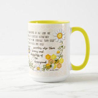 Psalm-19:9 - 10 süßer als Honig Tasse