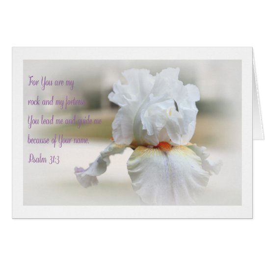 Psalm-31:3 Karte