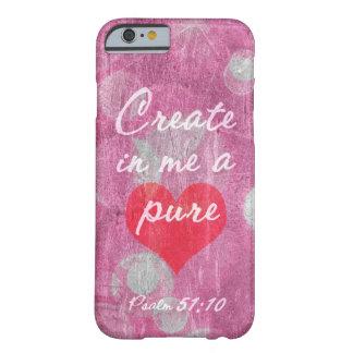 Psalm-51:10 schaffen in mir einen reinen barely there iPhone 6 hülle